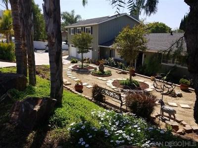 Vista Single Family Home For Sale: 1970 Warmlands Avenue
