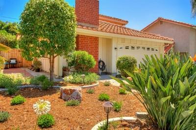 Carlsbad Single Family Home For Sale: 4208 Sierra Morena Ave