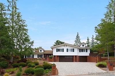 Encinitas Single Family Home For Sale: 807 Val Sereno Dr