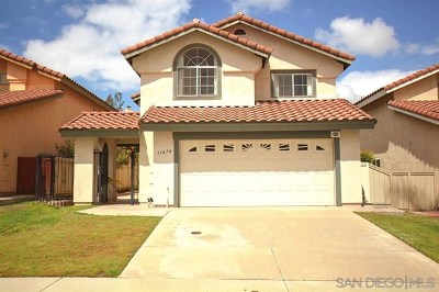 El Cajon Single Family Home For Sale: 11674 Via Carlotta