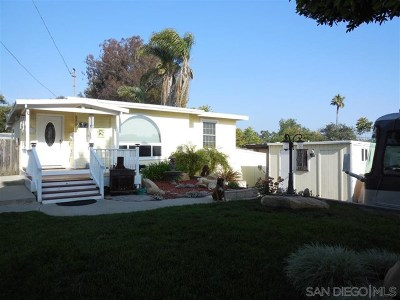 El Cajon Single Family Home For Sale: 246 Loma Vist Pl.
