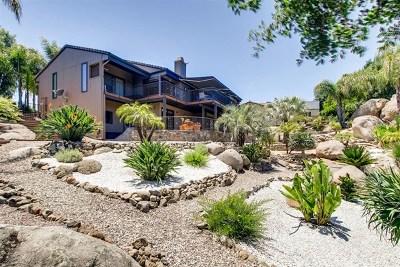 Escondido Single Family Home For Sale: 9664 Galatea