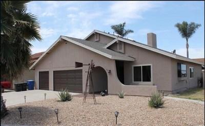 Chula Vista Single Family Home For Sale: 130 Marigold Place