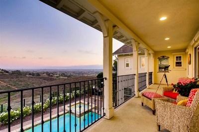 Carlsbad Single Family Home For Sale: 6937 Sitio Cordero
