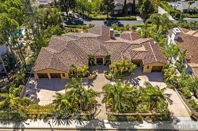 Carlsbad Single Family Home For Sale: 7133 Obelisco Cir