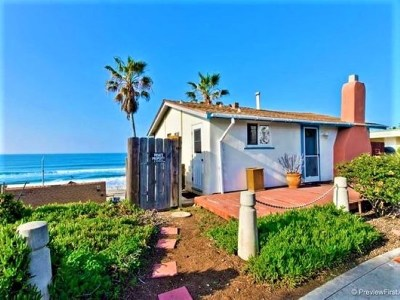 Oceanside Single Family Home For Sale: 217 S Pacific