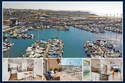 Oceanside Condo/Townhouse For Sale: 1200 Harbor Dr N #1A