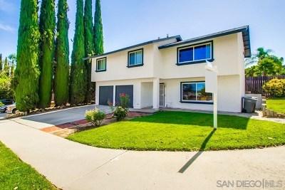 Escondido Single Family Home For Sale: 1160 S. Hale