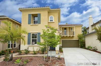 Carlsbad Single Family Home For Sale: 3452 Filoli Cir.
