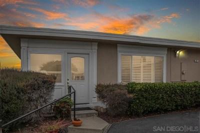 Oceanside Single Family Home For Sale: 3747 S Vista Campana #27