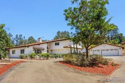 Poway Single Family Home For Sale: 15157 Crocker Rd.