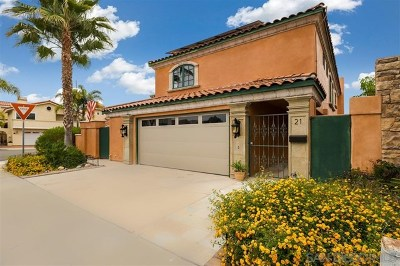 Coronado Single Family Home For Sale: 21 Sixpence Way