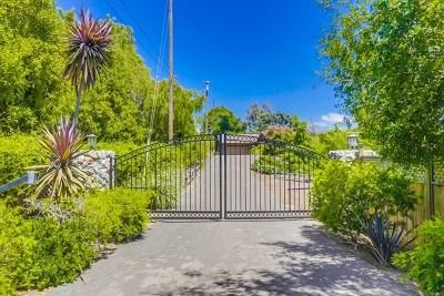 Escondido Single Family Home For Sale: 28437 Sage Glen Trl