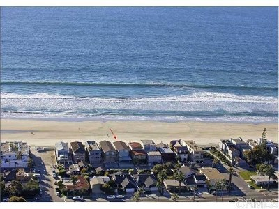 Del Mar Single Family Home For Sale: 1820 Ocean Front