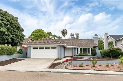 Encinitas Single Family Home For Sale: 1639 Orange Blossom Way