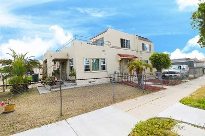 National City Multi Family Home For Sale: 406 E Plaza Blvd.