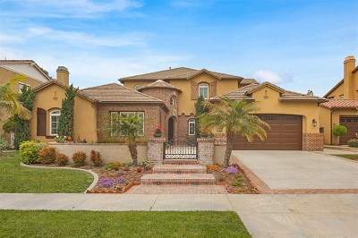Carlsbad Single Family Home For Sale: 6772 Malachite Pl