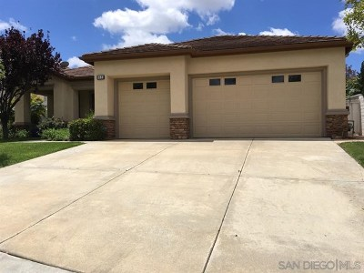 Escondido Single Family Home For Sale: 3171 Ferncreek Ln