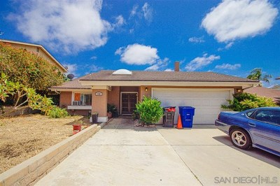 Chula Vista Single Family Home For Sale: 146 Camino Entrada