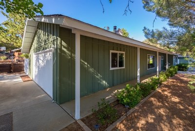 San Diego County Single Family Home For Sale: 29301 Rocky Pass