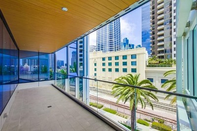 San Diego Condo/Townhouse For Sale: 888 W E St #503