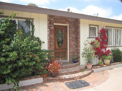 Vista Single Family Home For Sale: 427 Ocean View Dr.