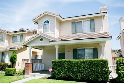 Chula Vista Single Family Home For Sale: 1501 Fieldbrook St