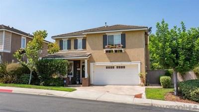 Vista Single Family Home For Sale: 813 Sierra Verde Drive
