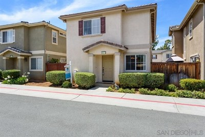 San Diego County Single Family Home For Sale: 633 Janae Gln