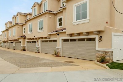 Carlsbad Condo/Townhouse For Sale: 767 Magnolia Ave