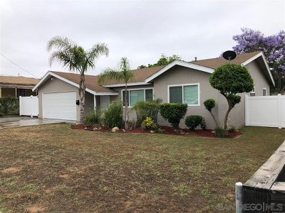 Imperial Beach Single Family Home For Sale: 1111 Donax Ave