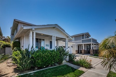 Carlsbad Single Family Home For Sale: 6925 Catamaran
