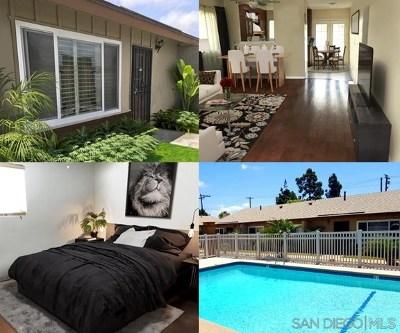 Chula Vista Condo/Townhouse For Sale: 329 J Street #A