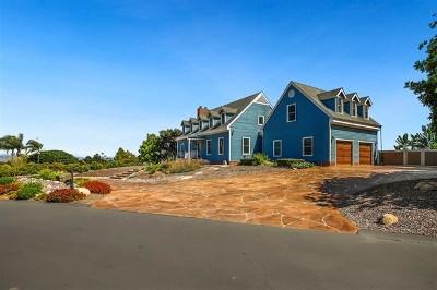 Fallbrook Single Family Home For Sale: 102 Lake Ridge Cir