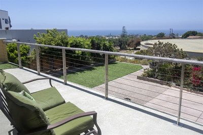 Solana Beach Single Family Home For Sale: 445 E Cliff St