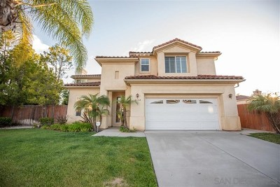 El Cajon Single Family Home For Sale: 9334 Ashley View Pl