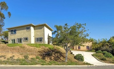 Vista Single Family Home For Sale: 664 Ocean View Drive