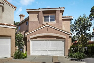 San Diego Single Family Home For Sale: 10829 Caminito Arcada