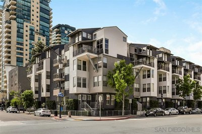 San Diego County Condo/Townhouse For Sale: 101 Market St #213