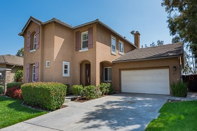 Chula Vista Single Family Home For Sale: 2413 Crooked Trail