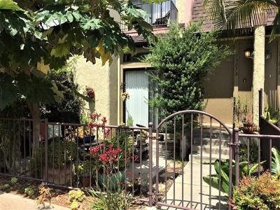 San Diego County Condo/Townhouse For Sale: 7307 Alicante Road #A