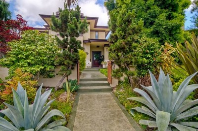 San Diego County Single Family Home For Sale: 3279 Homer St