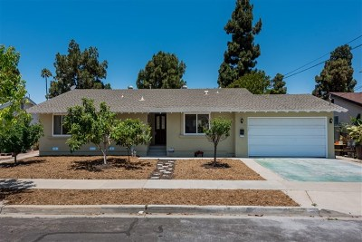 Chula Vista Single Family Home For Sale: 65 E Shasta