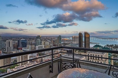 San Diego Condo/Townhouse For Sale: 700 Front Street #2705