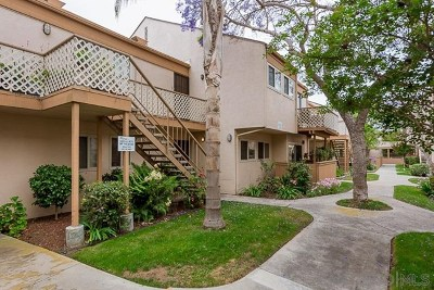 San Diego Condo/Townhouse For Sale: 4170 Mount Alifan Place #C