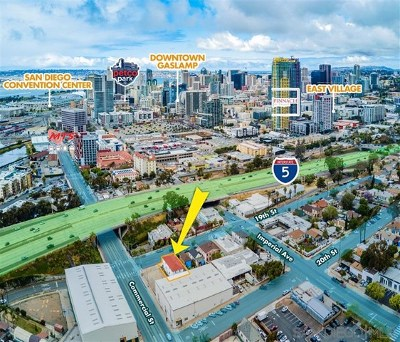 San Diego Multi Family Home For Sale: 23 19th St