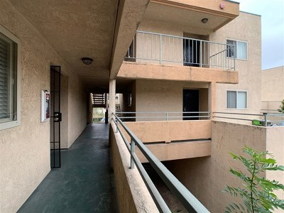 San Diego Condo/Townhouse For Sale: 6434 Akins Ave #507