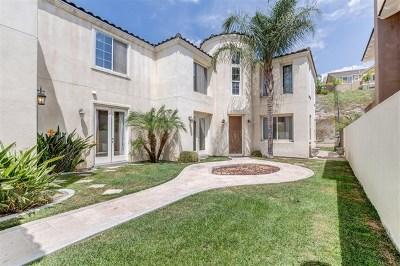 Chula Vista Single Family Home For Sale: 1013 White Alder Ave