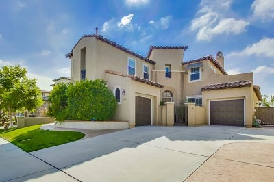 Chula Vista Single Family Home For Sale: 1312 Silver Hawk Way