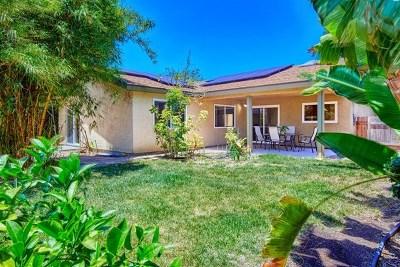 Spring Valley Single Family Home For Sale: 3012 Avenida De Lamar